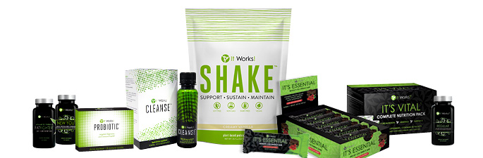 It Works Lifestyle Products
