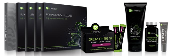 It Works Product Packs